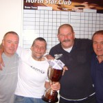 Pete & Ken Pairs Winners , presented Sean & Jim